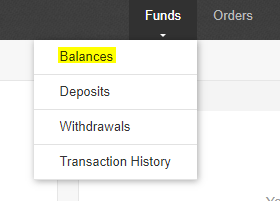 Binance review: option 2, that's related to balances.