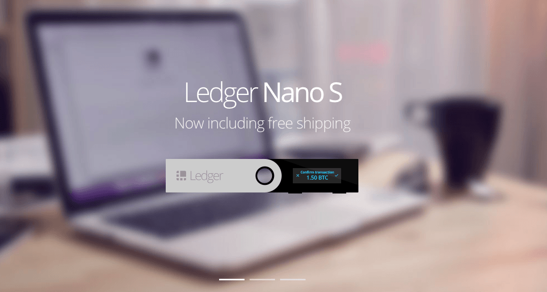 What is Ethereum: the Ledger Nano S Wallet.