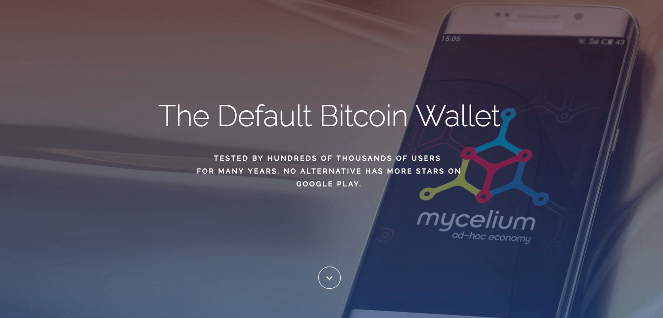 Best cryptocurrency wallet: the Mycelium Bitcoin wallet.