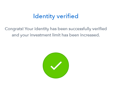 What is Bitcoin Cash: account verification success.