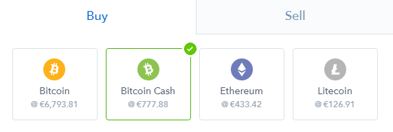 What is Bitcoin Cash: selecting to buy bitcoin cash on Coinbase.