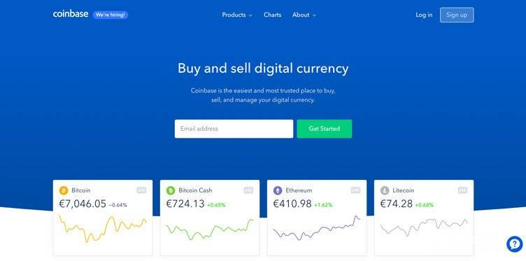 What is Ethereum: the Coinbase wallet.