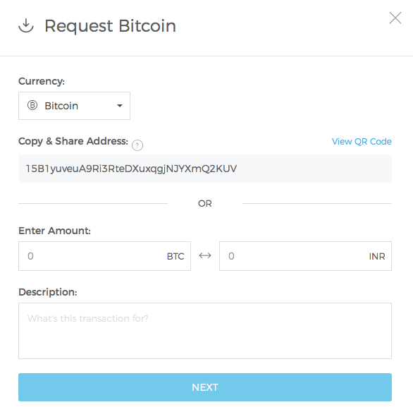 Best Bitcoin wallet: Requesting Bitcoin on a wallet.