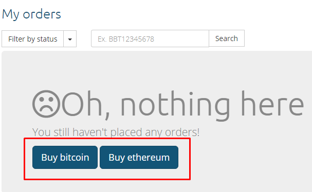 Buying Bitcoin or Ethereum on Coinmama