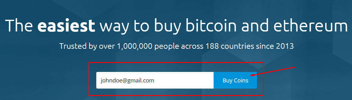 Buying coins on Coinmama
