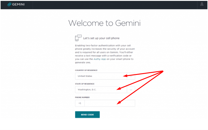 Welcome to Gemini Exchange