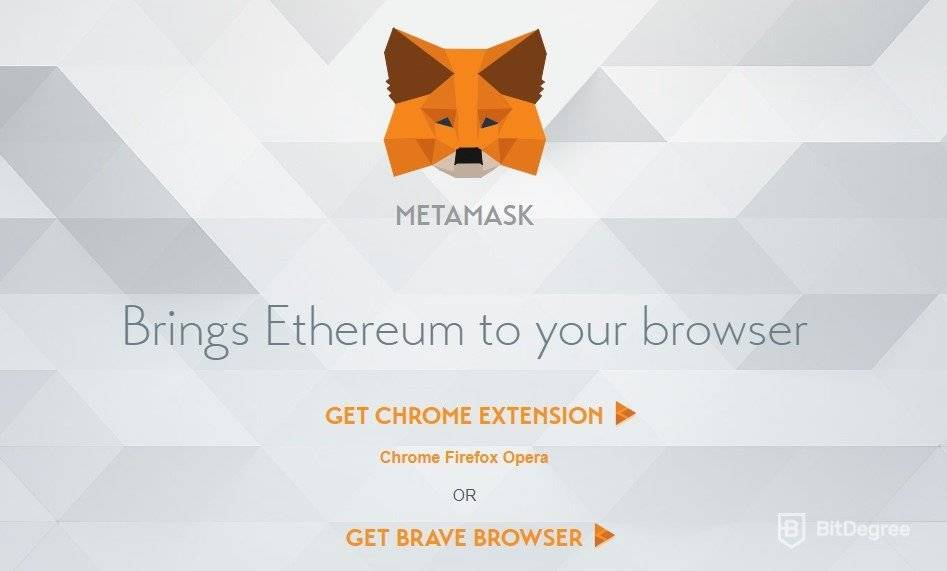 MetaMask wallet review: buying ETH on the browser.