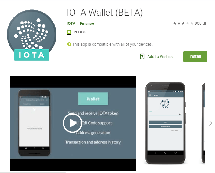 IOTA Wallet BETA