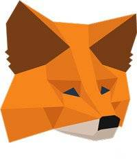 MetaMask wallet review: MetaMask logo.