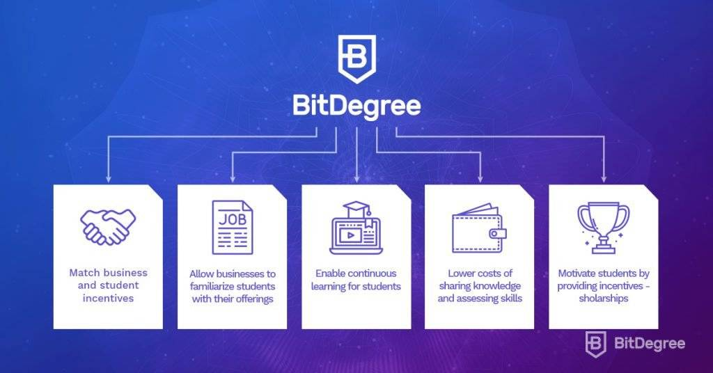 BitDegree Platform Benefits