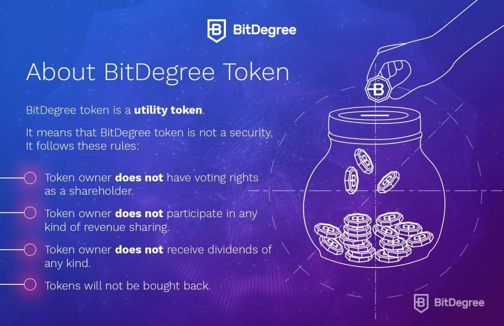 bitdegree ico token facts