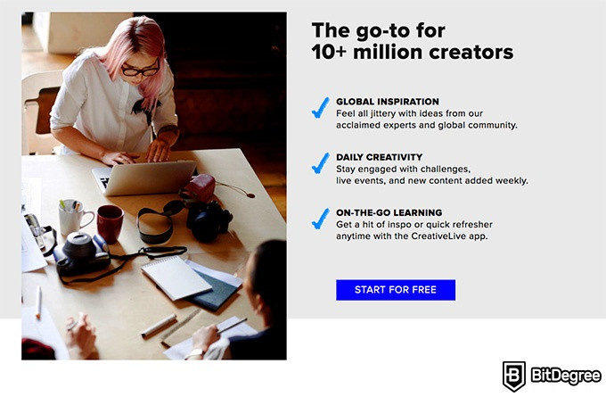 Creative Live review: the go-to for 10+ million creators.