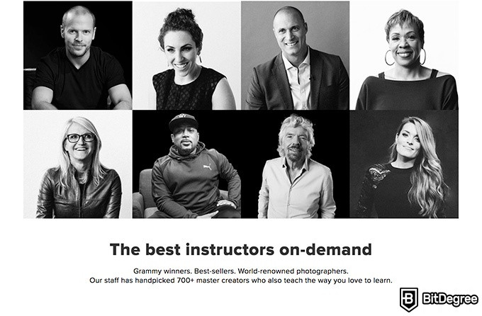 Creative Live review: the best instructors.