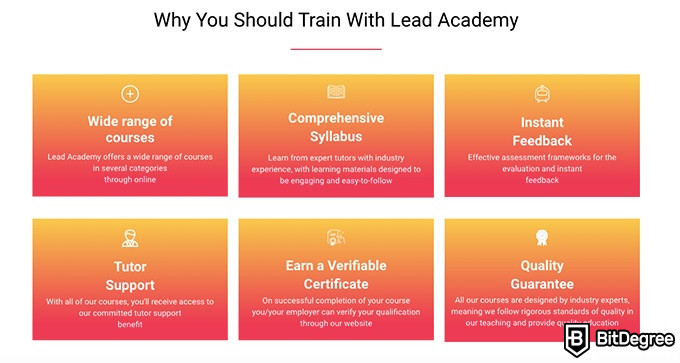 Lead Academy review: why train with Lead Academy.