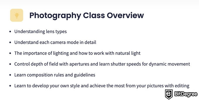 Shaw Academy Reviews: photography course overview