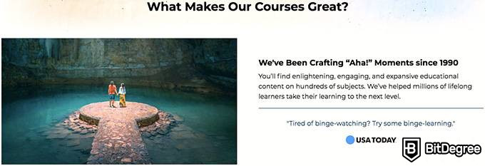 Reseña The Great Courses Plus: ¿Que hacen especiales a nuestros cursos?