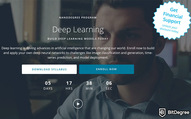 Udacity Deep Learning: Reveal Nanodegree Program for In-Depth Knowledge