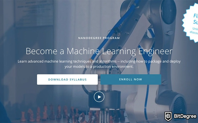 Study Udacity Machine Learning and Become an Engineer
