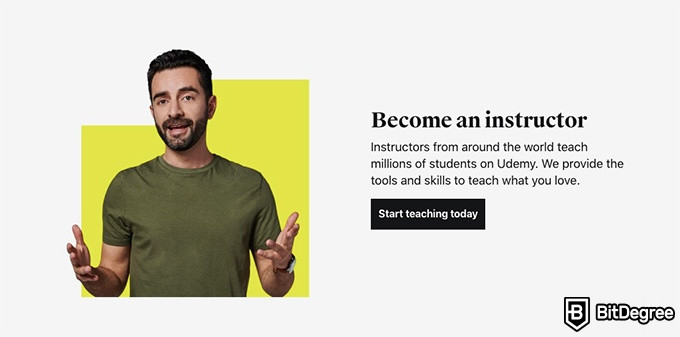 Udemy review: become an instructor.